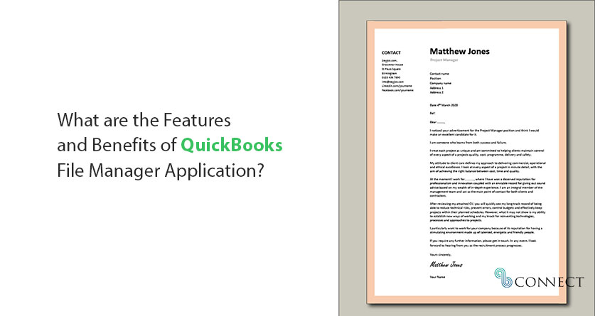 QuickBooks File Manager Application